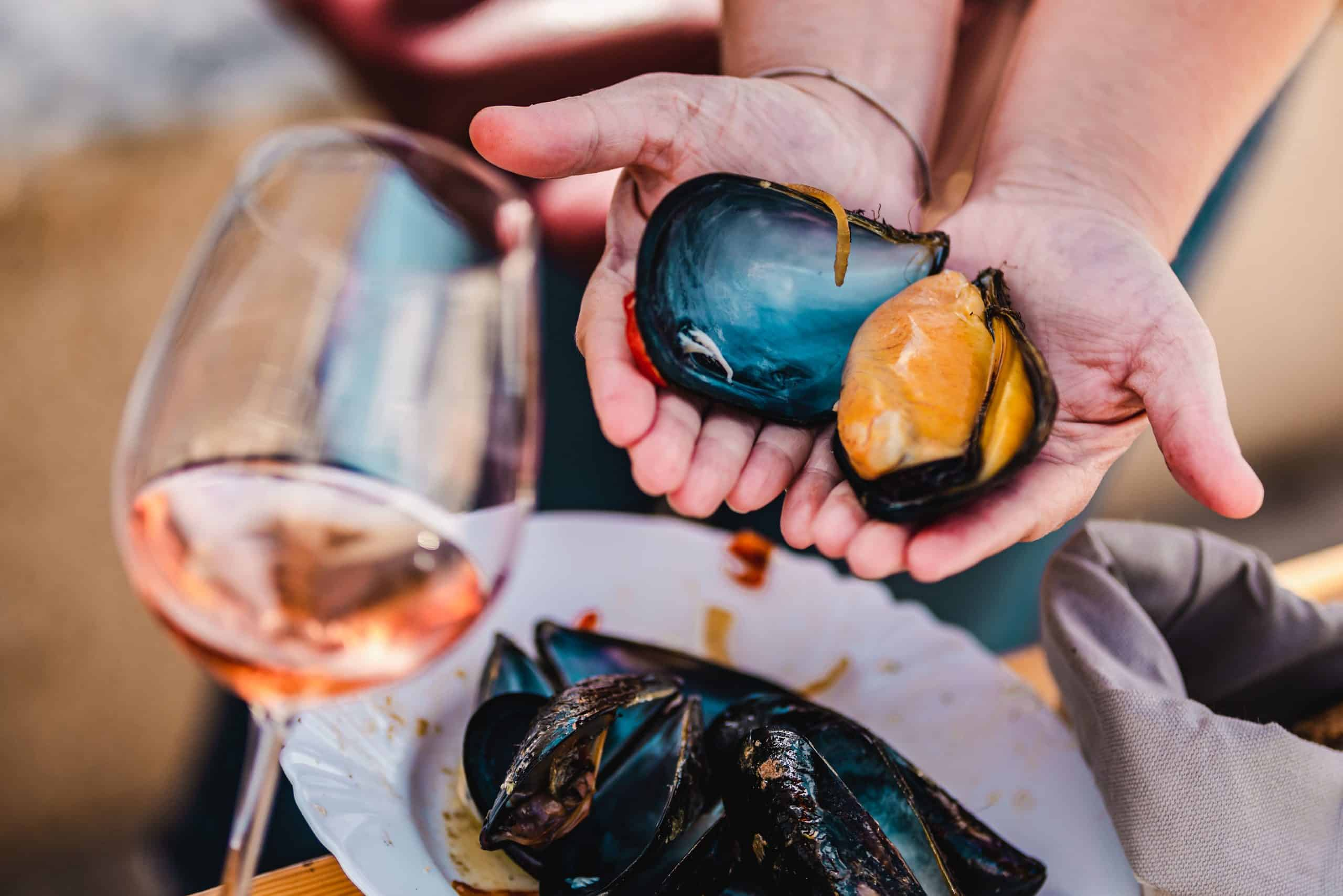 The Mussels and Rosé Malena